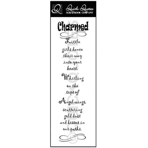 Charmed Vellum Strip