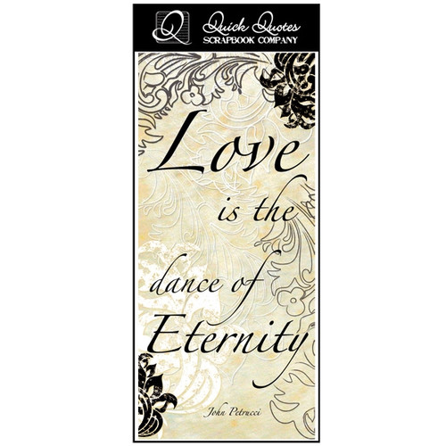 Love is the dance of Eternity - Color Vellum 1