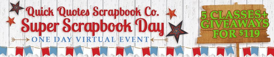 Super Scrapbook Day