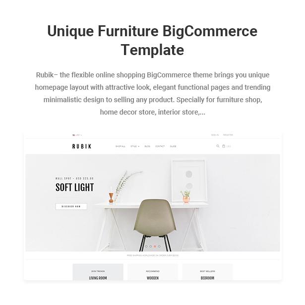 Single Product Homepage