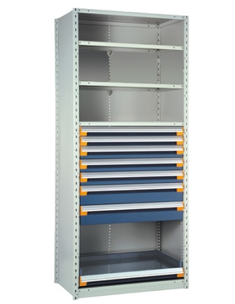 drawers-in-shelving