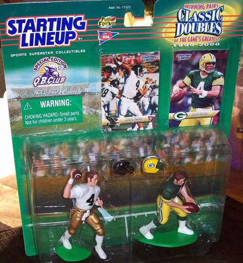 Starting Lineup Classic Doubles Brett Favre (Southern Mississippi & Green Bay Packers)
