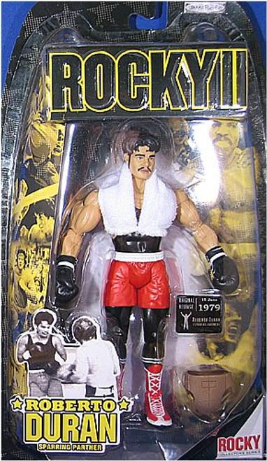Roberto Duran Sparring Partner Action Figure - Rocky II