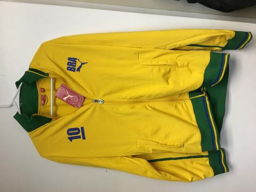 PUMA Men's Brazil 10 Track Jacket Size Medium