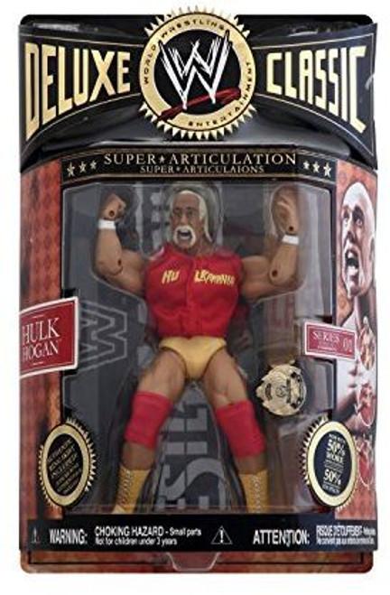 WWE Jakks Deluxe Classic Super Articulation Series 1 Hulk Hogan by Jakks Pacific