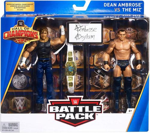 WWE Hall of Champions Dean Ambrose Vs the Miz Action Figure