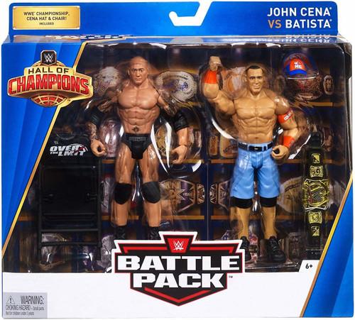 WWE Hall of Champions John Cena Vs. Batista Action Figure