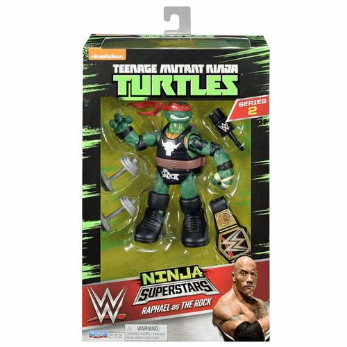 Teenage Mutant Ninja Turtles Ninja Super Stars: Raph As the Rock Action Figure