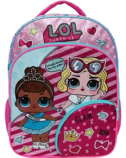 """L.O.L. Surprise! 16"""" Let Me Out Kids' Backpack - Pink"""