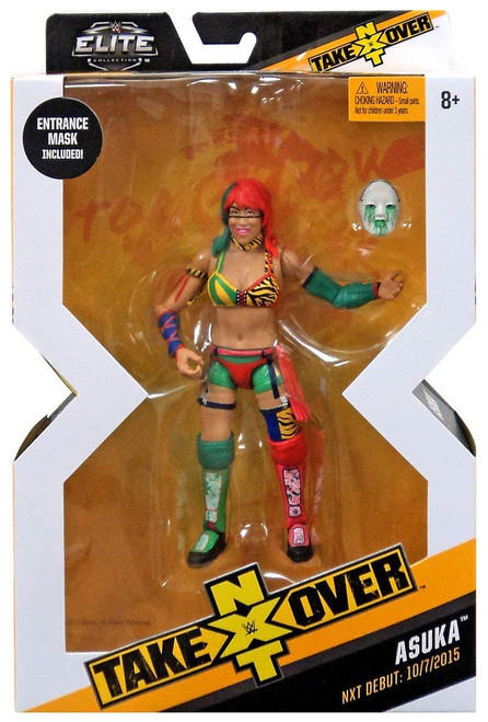 WWE Mattel NXT Takeover Elite Action Figure Asuka with Entrance Gear
