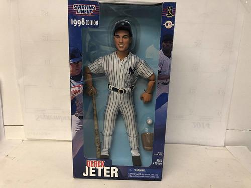 1998 Derek Jeter 12 Inch MLB Starting Lineup by Starting Line Up
