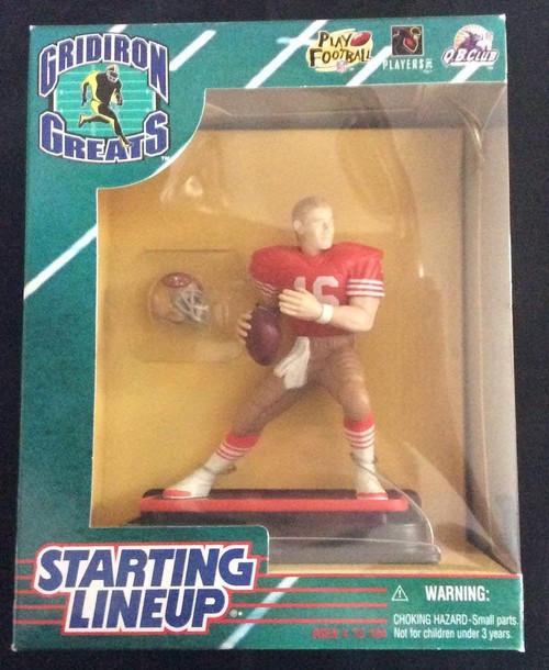 1997 NFL Starting Lineup Gridiron Greats - Joe Montana - San Francisco 49ers