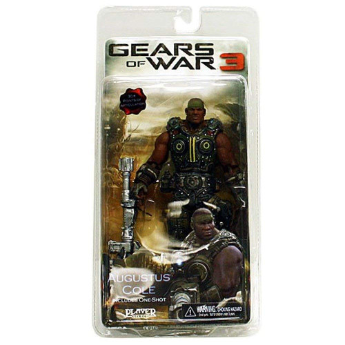 Gears of War 3 Series 2 7 inch Augustus Cole - One Shot Action Figure