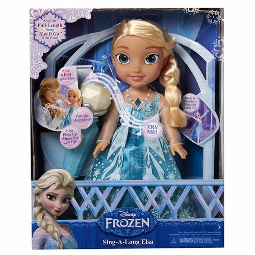 Frozen Disney Sing-A-Long Elsa Doll