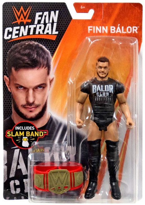WWE Mattel Finn Balor Fan Central Exclusive Basic Series Figure