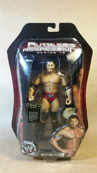 WWE Ruthless Aggression series 18 Batista Figure