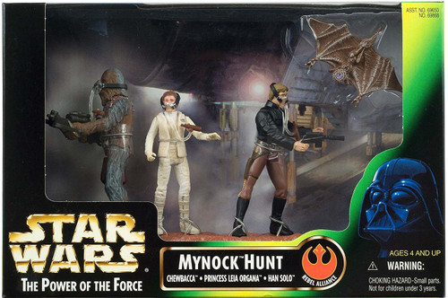 Star Wars - The Power Of The Force - Mynock Hunt by Kenner
