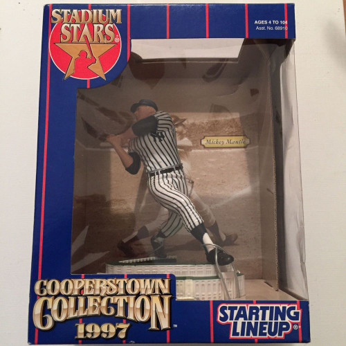 Mickey Mantle New York Yankees Cooperstown Collection 1997