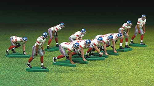 2008 Super Bowl Champions McFarlane Toys NFL 2 Inch Mini Sports Picks Ultimate 11 Piece Offensive Team White Jersey Set CHAMPIONSHIP EDITION New York Giants