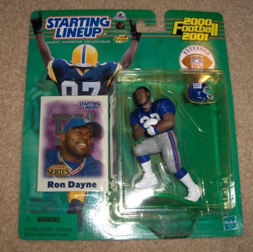 2000 Ron Dayne NFL Starting Lineup Extended Series Figure