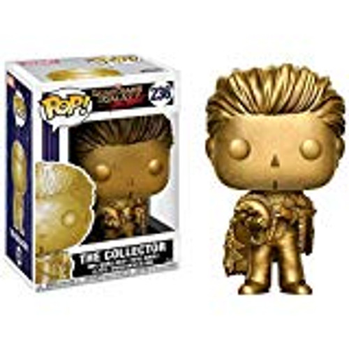 """Funko Pop! Marvel #236 Guardians of The Galaxy The Collector """"Gold"""" (Disney Parks Exclusive)"""