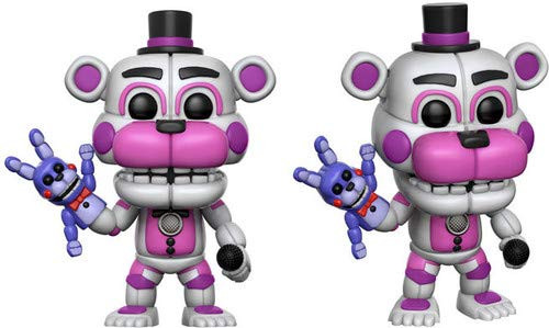 Funko Pop! Games: Sister Location - Funtime Freddy (Styles May Vary) Collectible Figure