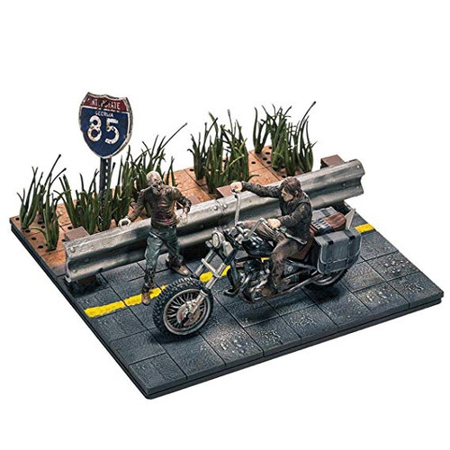 McFarlane Toys Building Sets -The Walking Dead TV Daryl Dixon with Chopper Building Set