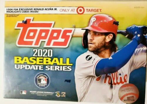 2020 Topps MLB Baseball Update Series Mega Box Target Exclusive Megabox
