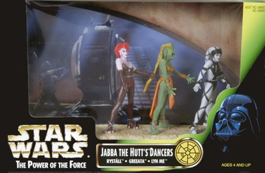 Details about  /Rystall-Loose-Star Wars-Jabba The Hutt/'s Dancer