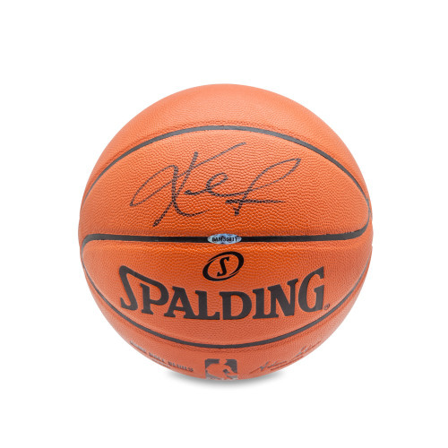 KEVIN LOVE Signed Replica Basketball UDA.