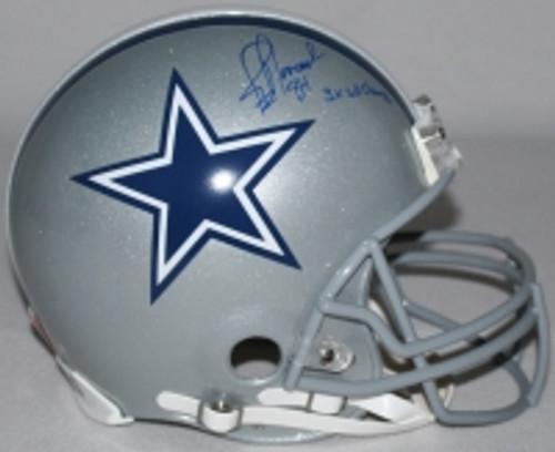 "JAY NOVACEK Signed LE Cowboys Full-Size Authentic Pro-Line Helmet Inscribed ""3X SB Champs"" STEINER COA LE 10/10"