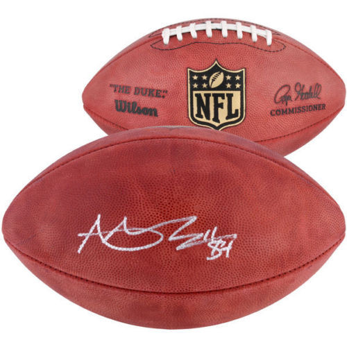 ANTONIO BROWN Oakland Raiders Autographed Authentic Duke Football FANATICS