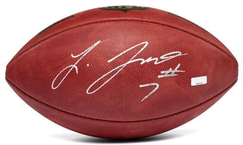 LEONARD FOURNETTE Autographed Authentic NFL Duke Football PANINI