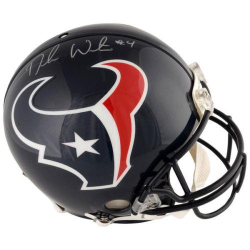 DESHAUN WATSON Autographed Houston Texans Proline Authentic Helmet FANATICS