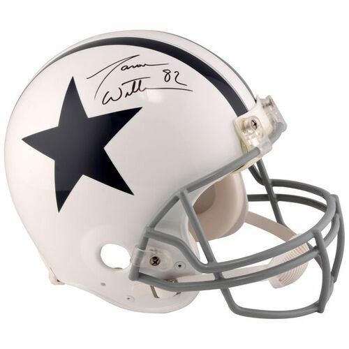 JASON WITTEN Dallas Cowboys Autographed Riddell Throwback 1960 - 1963 Pro-Line Helmet FANATICS