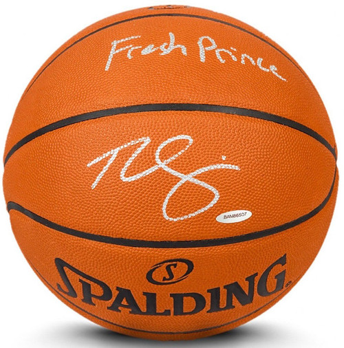 """BEN SIMMONS Autographed Inscribed """"Fresh Prince"""" Authentic Basketball UDA"""