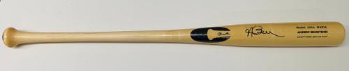 ANDREW BENINTENDI Autographed Boston Red Sox Game Model Bat FANATICS