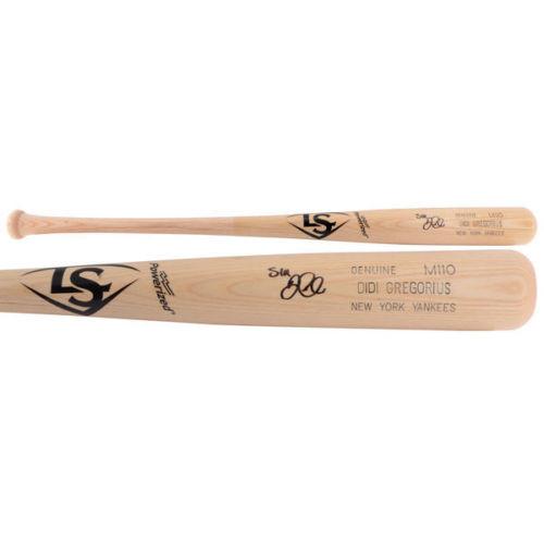 DIDI GREGORIUS Autographed New York Yankees Game Model Bat FANATICS