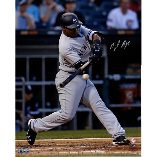 """MIGUEL ANDUJAR Autographed NY Yankees """"MLB Debut"""" 16"""" x 20"""" Photograph STEINER"""