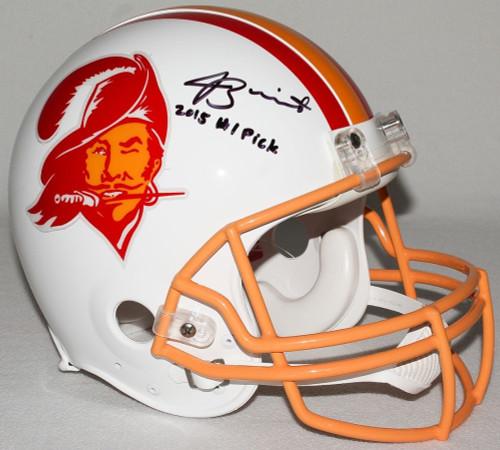 JAMEIS WINSTON Autographed / Inscribed Buccaneers Proline Helmet STEINER LE 3/13