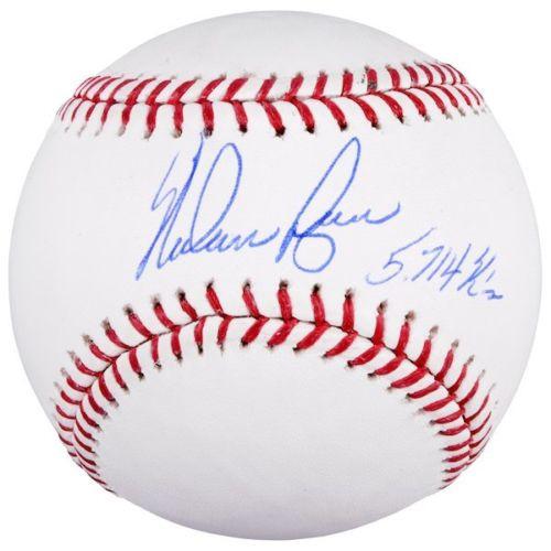 "NOLAN RYAN Autographed Houston Astros ""5714 K's"" Official Baseball FANATICS"