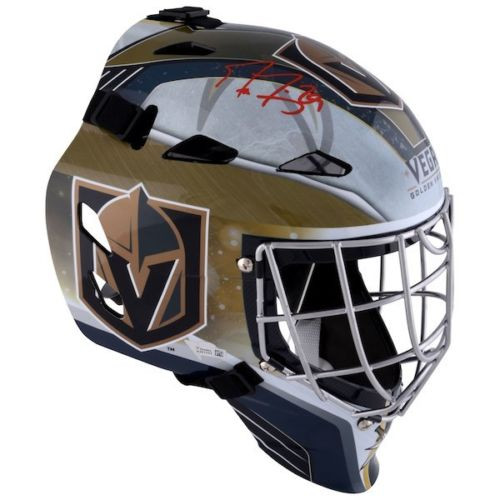 MARC-ANDRE FLEURY Autographed Golden Knights Goalie Mask FANATICS