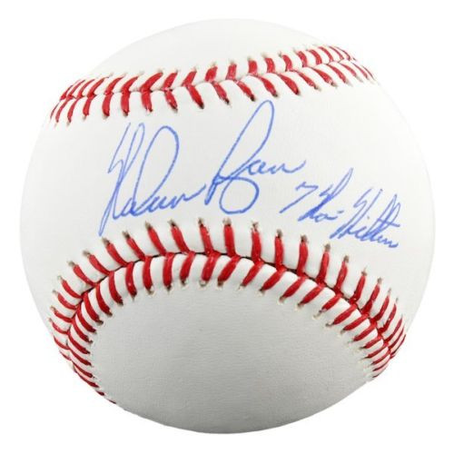 "NOLAN RYAN Autographed ""7 No Hitters"" Official Baseball FANATICS"