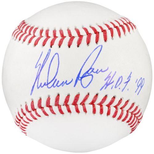 "NOLAN RYAN Autographed Texas Rangers ""HOF 99"" Official Baseball FANATICS"