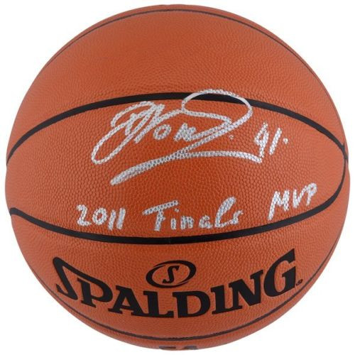 "DIRK NOWITZKI Autographed Dallas Mavericks ""2011 Finals MVP"" Basketball FANATICS"