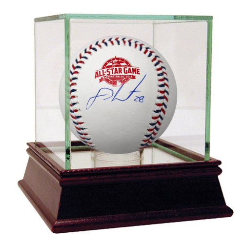 J.D. MARTINEZ Autographed Red Sox Official 2018 All Star Baseball STEINER