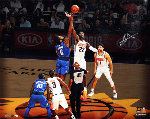 """DEANDRE AYTON Autographed Phoenix Suns """"Tip Off"""" 16"""" x 20"""" Photograph - Limited Edition of 50 - GAME DAY LEGENDS & STEINER"""