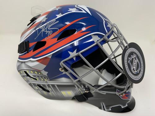 BRADEN HOLTBY Autographed Washington Capitals Goalie Mask FANATICS