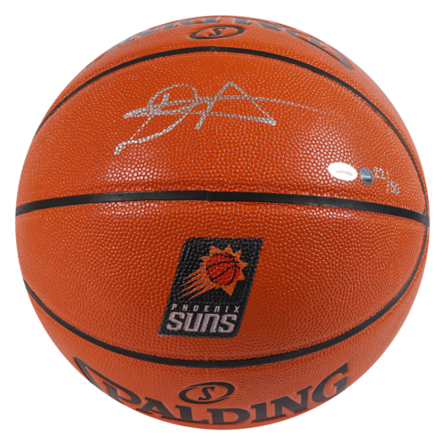 DEANDRE AYTON Autographed Phoenix Suns Logo Game Ball Series Spalding Basketball Limited Edition of 50 GAME DAY LEGENDS & STEINER