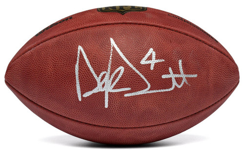 DAK PRESCOTT Dallas Cowboys Autographed Official NFL Football PANINI